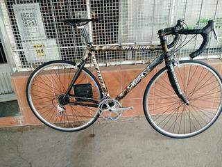 Bicicleta De Ruta Privitera 56 Aluminio Carbono Dura Ace