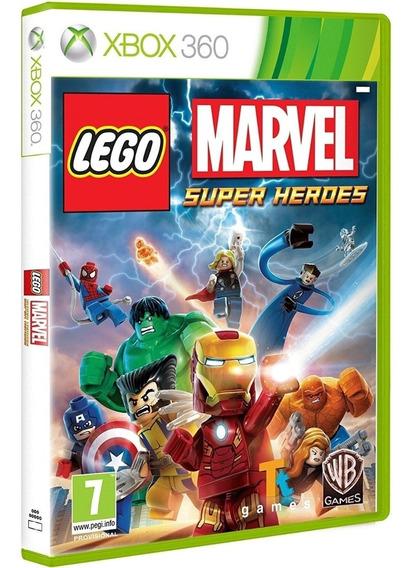 Jogo Lego Marvel Xbox 360 Disco Fisico Cd Original Português