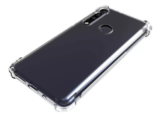 Funda Anti Golpes Moto G8 Plus G8 Play + Vidrio Templado