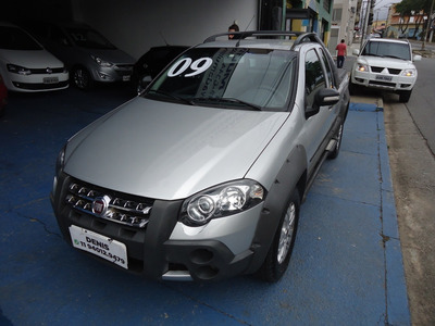 Fiat Strada 2009 1.8 Adventure Locker Ce Flex