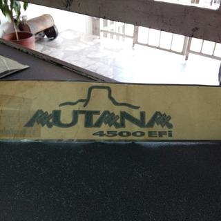 Calcomania Toyota Autana El Par