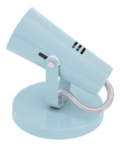 Spot Alumínio Redondo Focus Isadora Design Azul Baby Fg