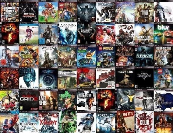 Promoção Pacote 3000 Jogos Ps3 Midia Digital