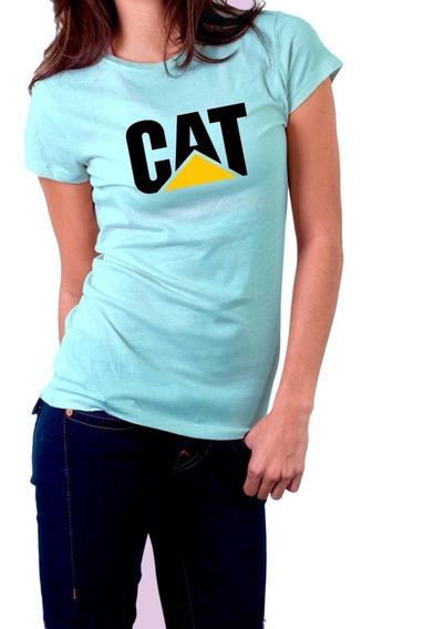 Camiseta Caterpillar Cat Feminina
