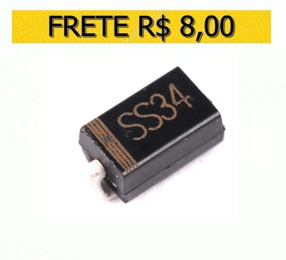 Diodo Ss34 1n5822 3a/40v Schottky Original - Lote 10 Unidade