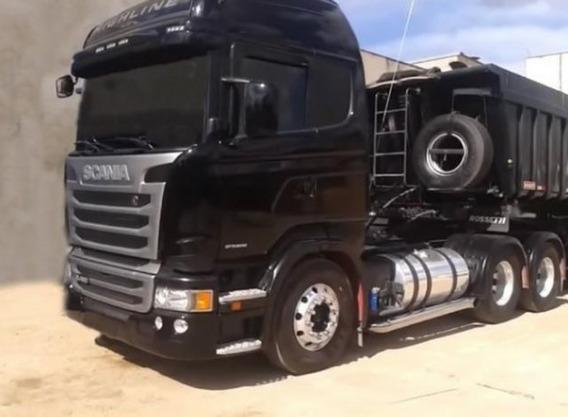Scania R 480 Highline +carreta Basculante Rossetti Com Trans