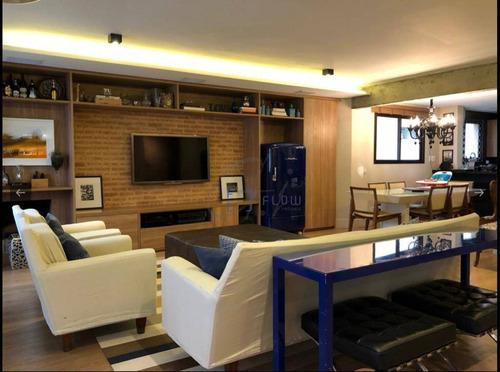 Apartamento 200m², 3 Dormitorios, 3 Suíte, 2 Vagas - Jardim Europa - Ap11293