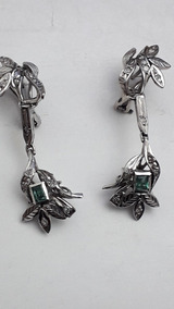 c476d72c9b1b Aretes De Paladio Y Diamantes - Aretes en Mercado Libre México