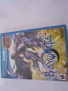 Bayonetta 1 Y 2 2 Discos Wii U Completo Como Nuevo