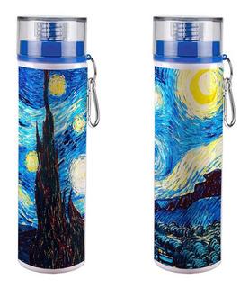 Termo Cilindro La Noche Estrellada De Vincent Van Gogh