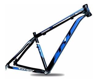 Quadro Mtb Bicicleta Tyt Guerreiro 2.0 Aro 29 Alumínio Azul