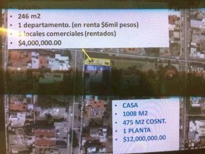 5 Locales Comerciales Y Departamento En Venta En Colonia Del Valle