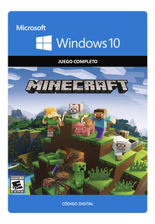 Minecraft Windows 10 Codigo Original Juego Completo