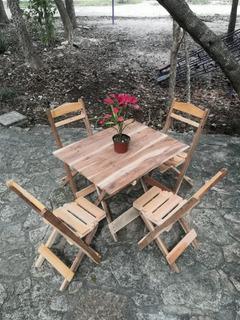 Muebles Plegables De Madera