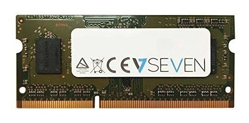 Memoria Ram 4gb V7 Ddr3 1600mhz Cl11 So Dimm Pc3-12800 1.35v (v7128004gbs-lv)