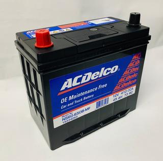 Bateria Acdelco Roja Ns60-650 Chevrolet Sail