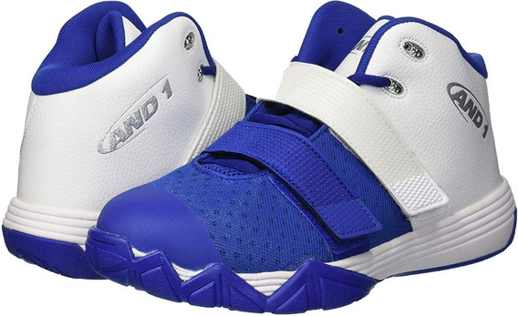 Tenis And1 Chosen One Ii Basquetbol Hombre Blanco Azul