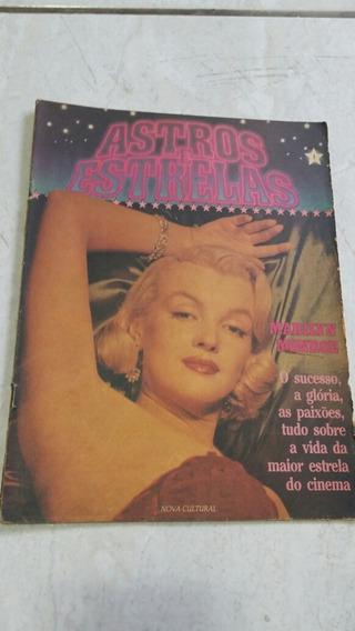 Revista Marilyn Monroe Astros E Estrelas. Rara.