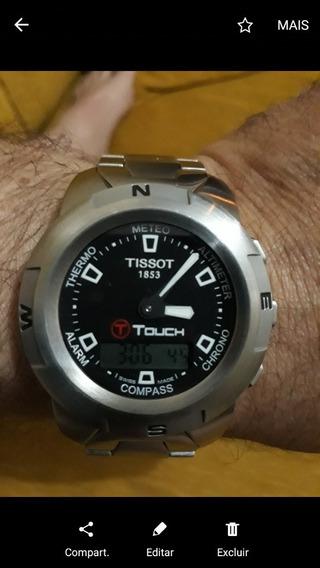Relógio Tissot Touch Original Novinho Completo
