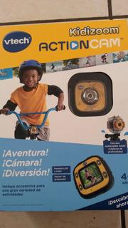 Camara Go-pro Infantil Sumergible En Agua Kidizoom Vtech