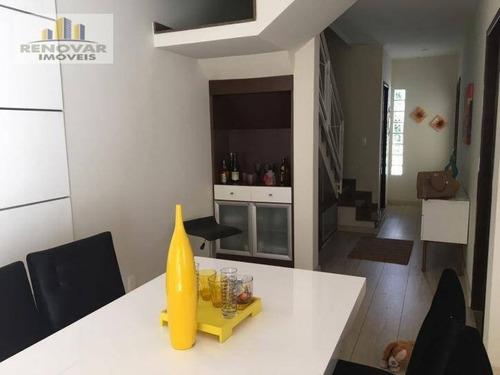 Imagem 1 de 19 de Casa À Venda, 100 M² Por R$ 640.000,00 - Vila Oliveira - Mogi Das Cruzes/sp - Ca0098