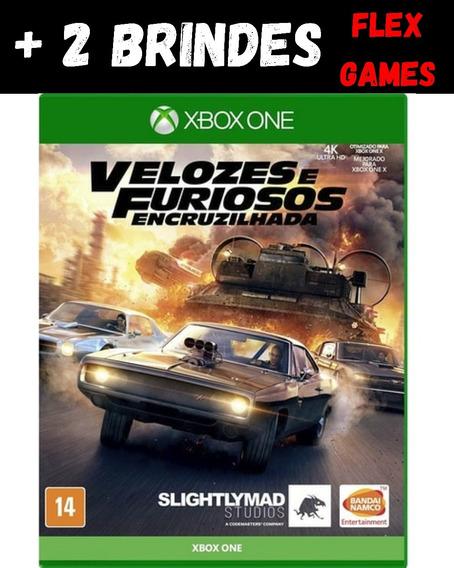 Velozes E Furiosos Encruzilhada Xbox One + 2 Brindes