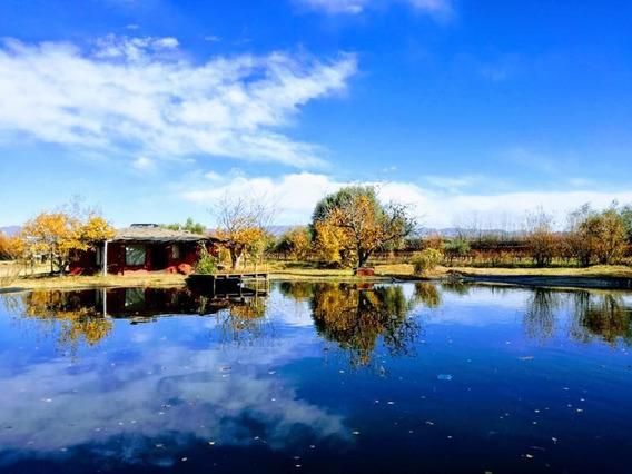 Casa Con Laguna En Cuadro Benegas - Barrio Y Fincas El Encuentro