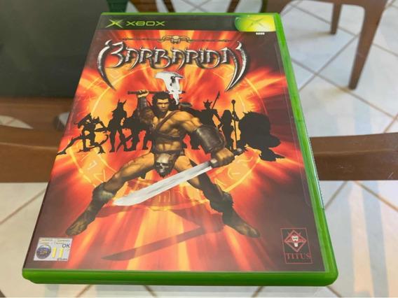Barbarian Lacrado Xbox Clássico Raro.