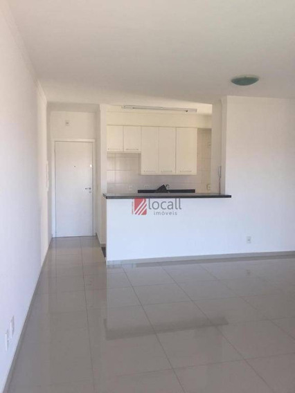 Apartamento Com 3 Dormitórios Para Alugar, 90 M² Por R$ 1.700,00/mês - Jardim Vivendas - São José Do Rio Preto/sp - Ap2111