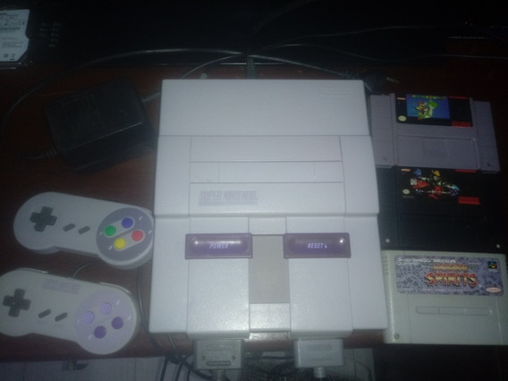 Super Nintendo Original Anos 90 Super Conservado