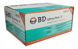 Jeringa Ultrafine Para Insulina Bd Codigo 328328 X Caja 100