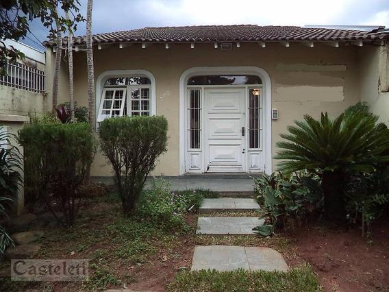 Casa Comercial À Venda, Vila Industrial, Campinas. - Ca1662