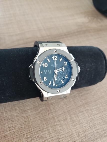Relógio Hublot Big Bang Eta 7750 Bezel De Cerâmica