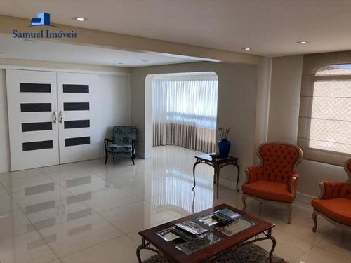 Imagem 1 de 29 de Apartamento Com 4 Dormitórios, 200 M² - Venda Por R$ 2.900.000,00 Ou Aluguel Por R$ 14.000,00/mês - Moema - São Paulo/sp - Ap4179