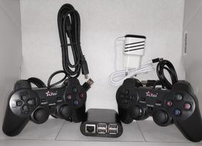 Super Game Box Retro Raspberry Pi3 2 Controle Com 32gb