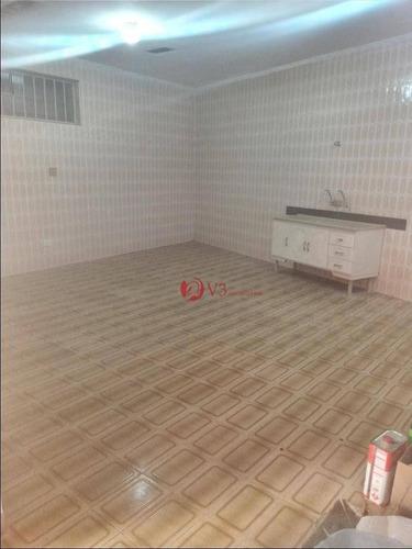 Casa Com 2 Dormitórios Para Alugar Por R$ 1.850,00/mês - Vila Guilhermina - São Paulo/sp - Ca0100