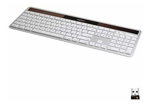 Logitech Wireless Solar Teclado K750 Para Mac - Silver (920