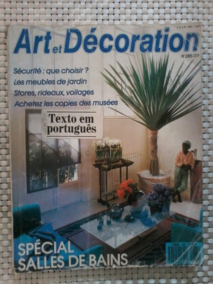 Revista Art Et Decoration - No. 285 - Textos Em Português