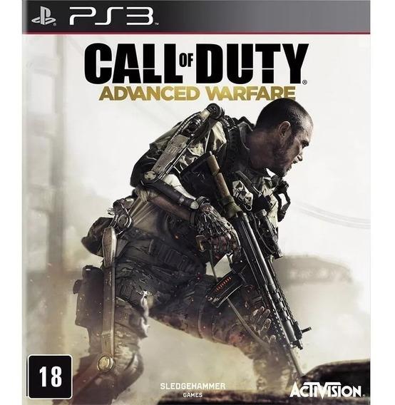 Call Of Duty Advanced Warfare Português Psn Ps3 Envio Rápido