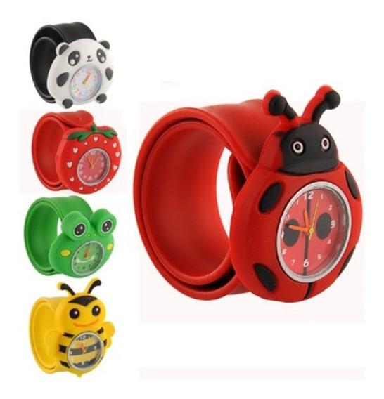 Relógio Infantil Animais Personagens 3d