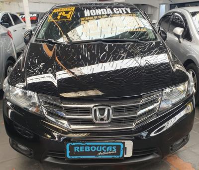 Honda City Lx 2014 Automatico Baixo Km