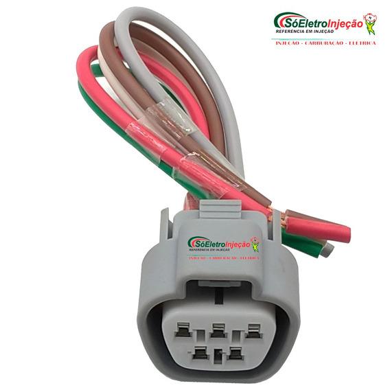 Chicote Plug 5 Vias Honda New Civic Reparo Limpador Parabris