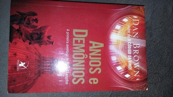 Livro Anjos E Demonios Dan Brown Editora Arqueiro