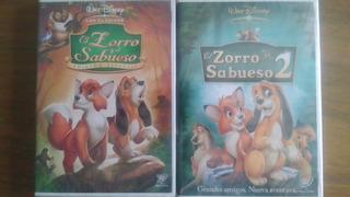 El Zorro Y El Sabueso 1 Y 2 Dvd Nuevo Original