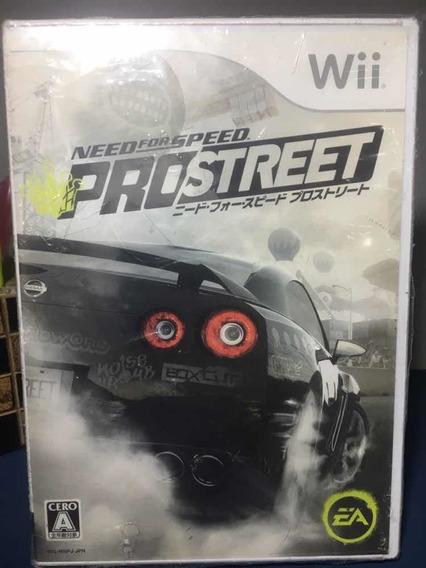 Need For Speed Prostreet- Jogo Para Wii Seminovo- Rf145
