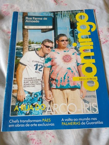 Revista Jornal Do Brasil 1554 Domingo Rua Do Arco-íris Gay