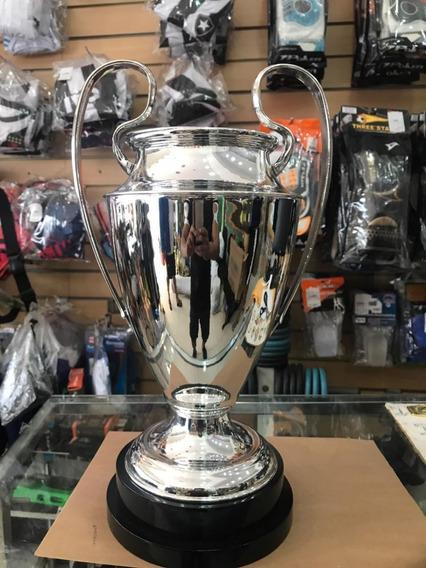 Trofeu Champions League 55cm Dourado Em Metal - Campeão