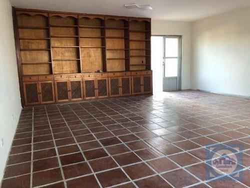Cobertura Com 3 Dormitórios À Venda, 240 M² Por R$ 635.000,00 - Boqueirão - Santos/sp - Co0121