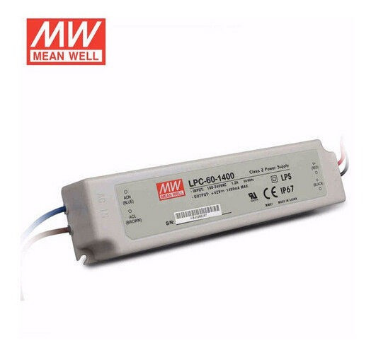 Driver Meanweell Lcp60 22-42v Auto Regulable 1400ma Cree