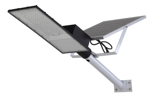 Luminaria Pastoral Panel Solar 150w Control Remoto+sensorpir